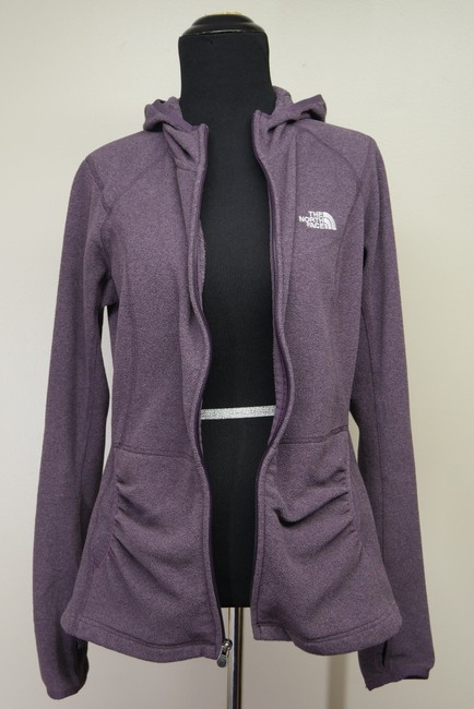 The North Face Fleece Signature Athletic Hooded Jacket Image 4