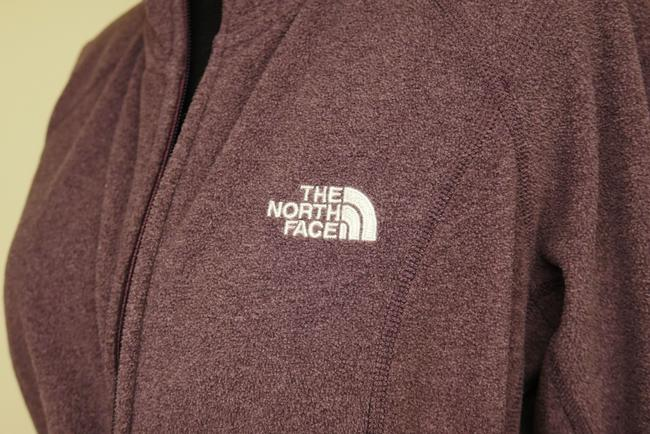The North Face Fleece Signature Athletic Hooded Jacket Image 6