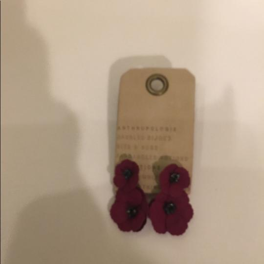 Anthropologie Anthropologie May flower front back earring Image 5