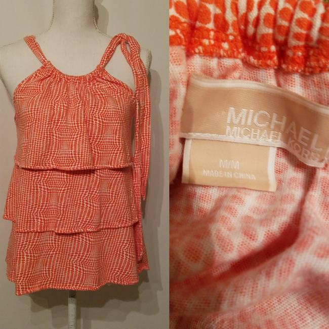 Preload https://img-static.tradesy.com/item/24781349/michael-kors-orange-and-white-dress-shirt-blouse-size-8-m-0-1-650-650.jpg