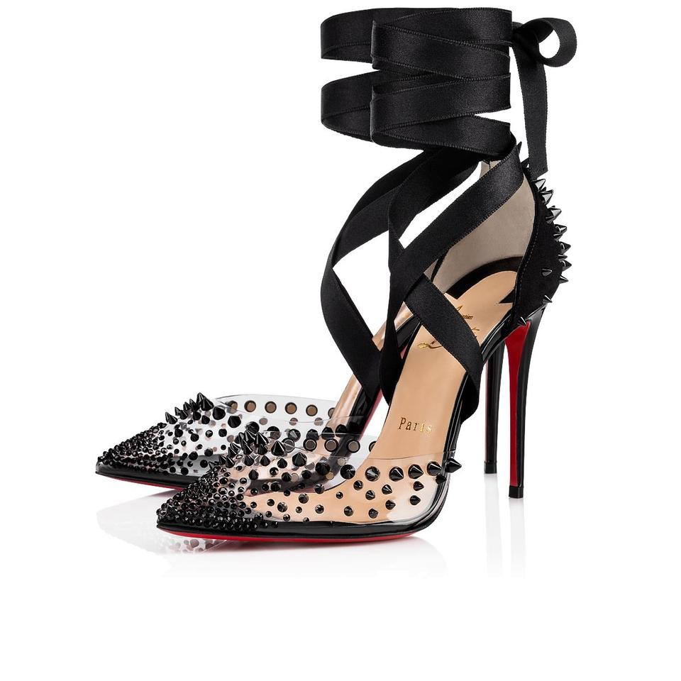 f4b3398913a2b4 Christian Louboutin Mechante Reine Stiletto Spike Classic black Pumps Image  0 ...