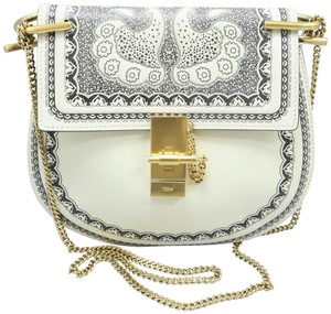 Chloé Calfskin Leather Drew Cross Body Bag
