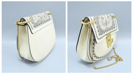 Chloé Calfskin Leather Drew Cross Body Bag Image 4