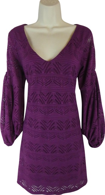Preload https://img-static.tradesy.com/item/24781416/maeve-purple-short-casual-dress-size-6-s-0-1-650-650.jpg