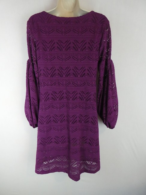 Maeve short dress purple on Tradesy Image 1