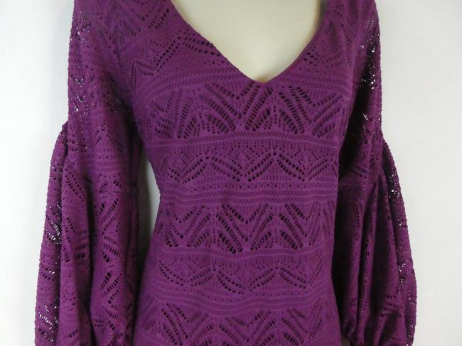 Maeve short dress purple on Tradesy Image 6