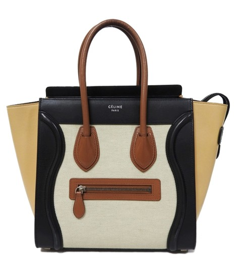 Preload https://img-static.tradesy.com/item/24781470/celine-luggage-micro-multicolor-chalk-canvas-beige-calfskin-leather-tote-0-0-540-540.jpg