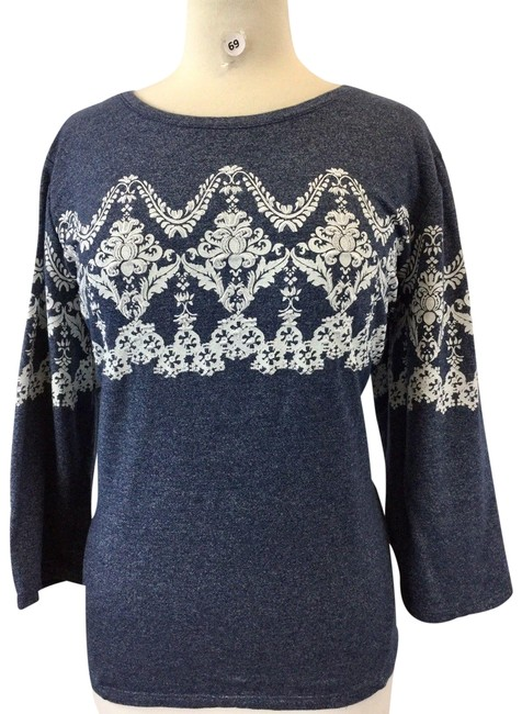 Preload https://img-static.tradesy.com/item/24781573/style-and-co-multicolor-multi-long-sleeve-women-s-designer-sweater-large-blouse-size-12-l-0-1-650-650.jpg