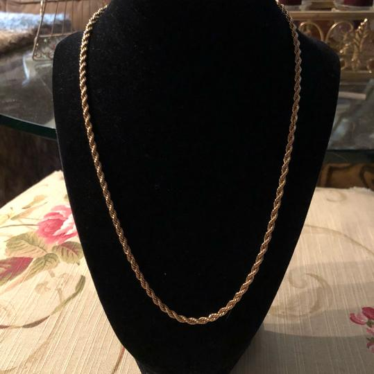 Gorgeous Gold Tone Necklace Gorgeous Gold Tone Chain Image 1
