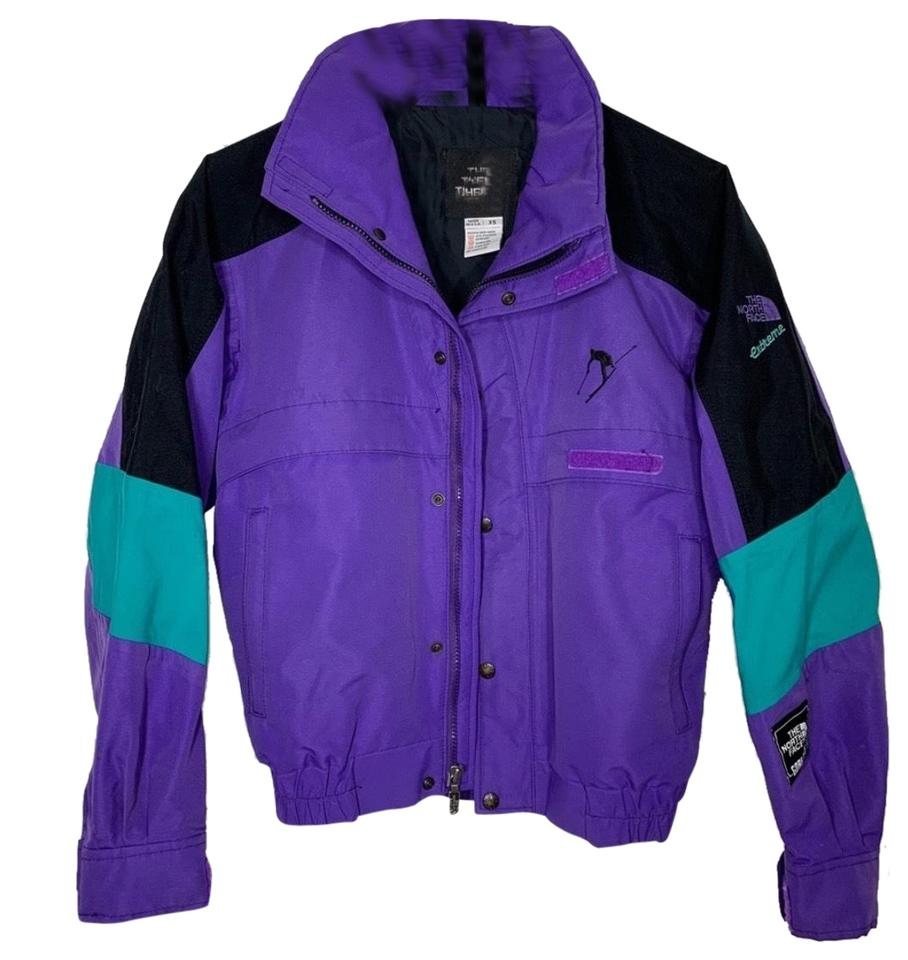 4d042e2c5 The North Face Purple Gore Tex Extreme Shell Coat Size 4 (S)