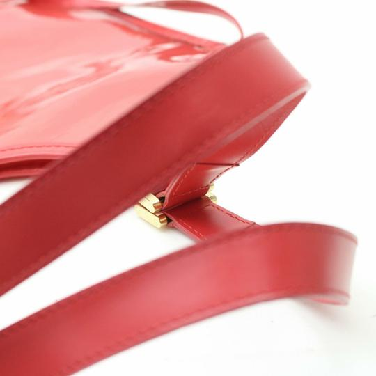 Louis Vuitton Amber Ambre Clear Naked Translucent Tote in Red Image 4