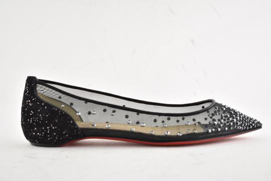 Christian Louboutin Ballerina Ballet Leather Follies black Flats Image 1