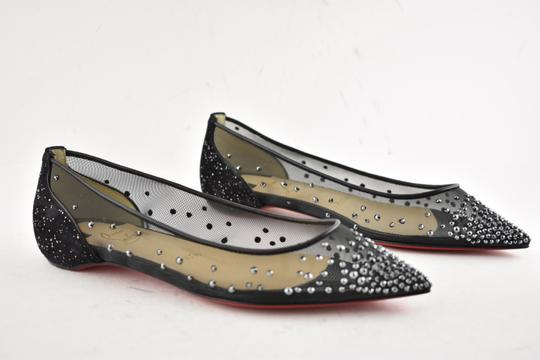 Christian Louboutin Ballerina Ballet Leather Follies black Flats Image 3