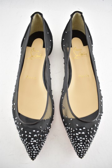 Christian Louboutin Ballerina Ballet Leather Follies black Flats Image 4
