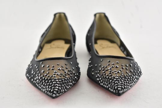 Christian Louboutin Ballerina Ballet Leather Follies black Flats Image 6