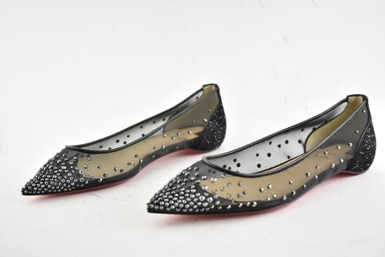 Christian Louboutin Ballerina Ballet Leather Follies black Flats Image 9