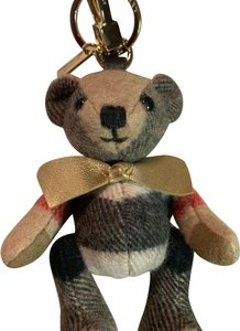 Burberry BURBERRY Thomas Bear Charm in Vintage Check Cashmere