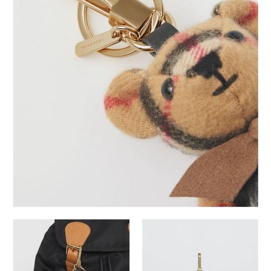 Burberry BURBERRY Thomas Bear Charm in Vintage Check Cashmere Image 10