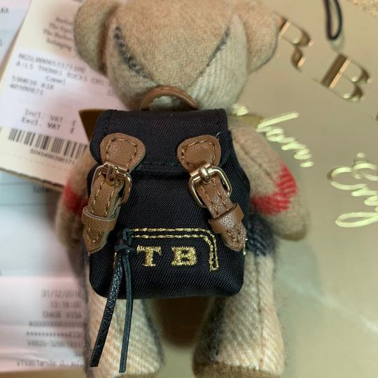 Burberry BURBERRY Thomas Bear Charm in Vintage Check Cashmere Image 2