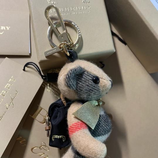 Burberry BURBERRY Thomas Bear Charm in Vintage Check Cashmere Image 4