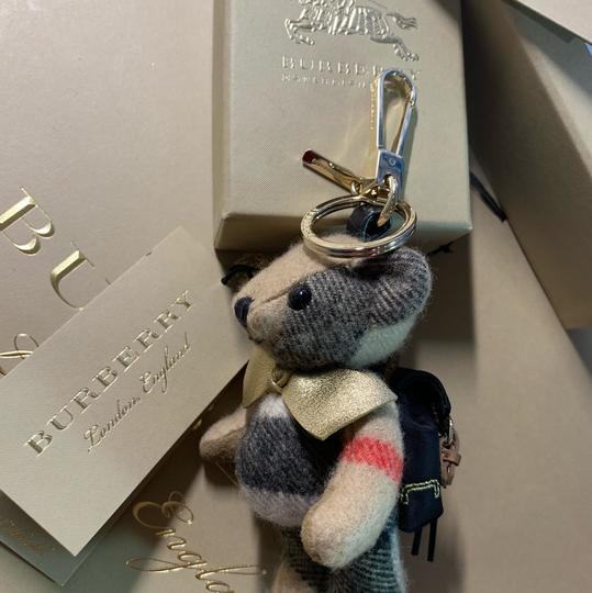 Burberry BURBERRY Thomas Bear Charm in Vintage Check Cashmere Image 5