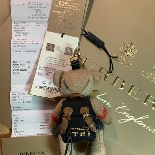 Burberry BURBERRY Thomas Bear Charm in Vintage Check Cashmere Image 7