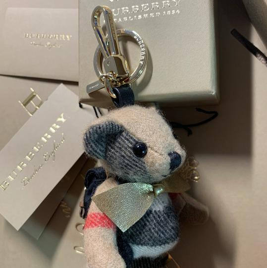Burberry BURBERRY Thomas Bear Charm in Vintage Check Cashmere Image 8