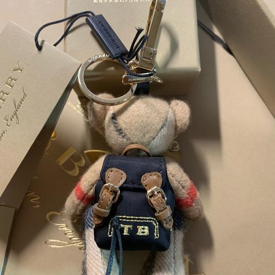 Burberry BURBERRY Thomas Bear Charm in Vintage Check Cashmere Image 9
