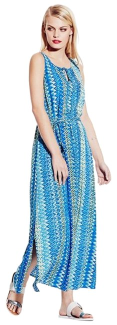 Preload https://img-static.tradesy.com/item/24781807/vince-camuto-blues-and-cream-ocean-ikat-chevron-sleeveless-long-casual-maxi-dress-size-24-plus-2x-0-1-650-650.jpg