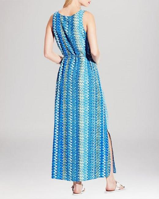 Blues & Cream Maxi Dress by Vince Camuto Image 1