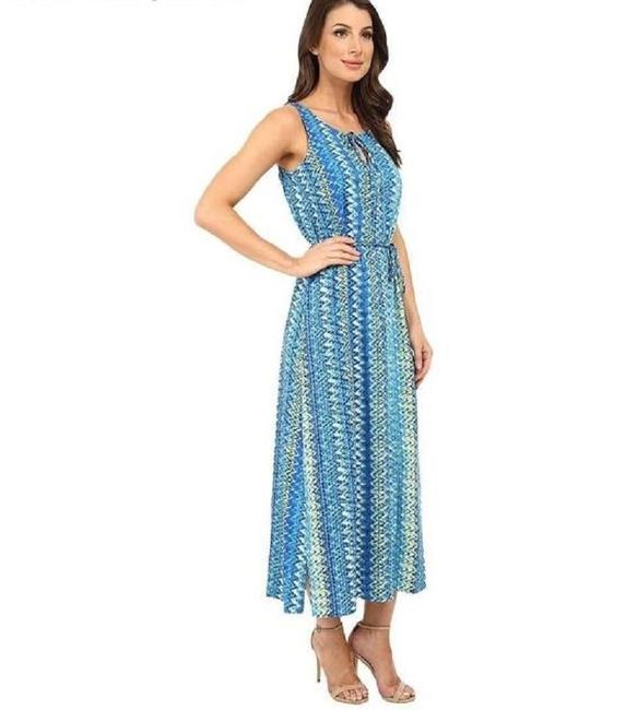 Blues & Cream Maxi Dress by Vince Camuto Image 5