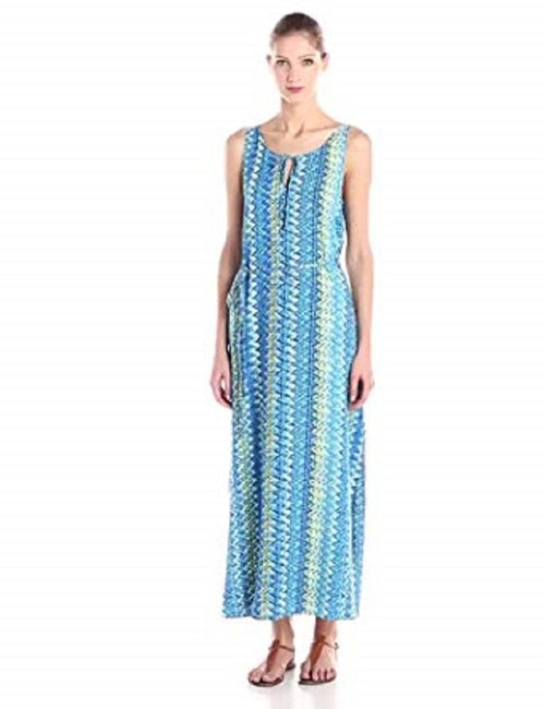 Blues & Cream Maxi Dress by Vince Camuto Image 9