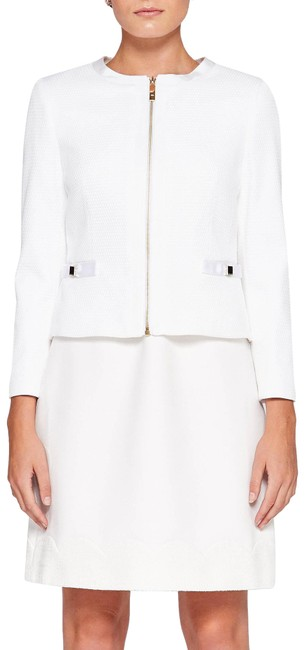 Preload https://img-static.tradesy.com/item/24781830/ted-baker-ivory-london-ione-textured-cropped-bow-jacket-size-6-s-0-1-650-650.jpg
