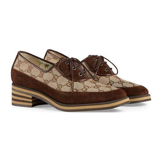 Gucci Loafer Mule Slide Flat Marmont brown Pumps Image 2