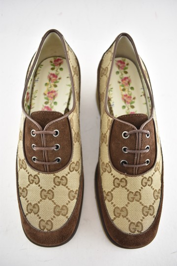 Gucci Loafer Mule Slide Flat Marmont brown Pumps Image 6