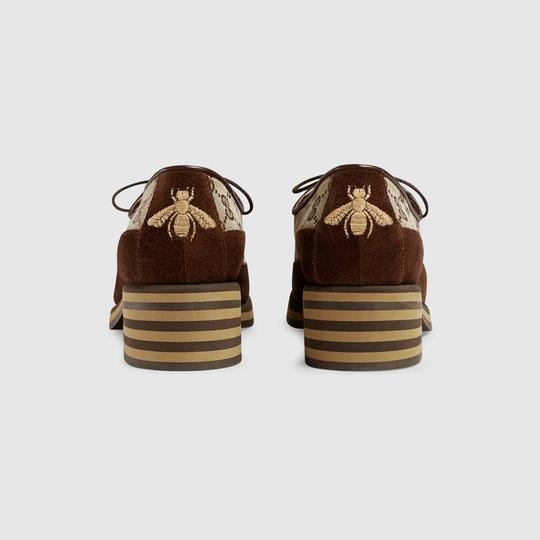 Gucci Loafer Mule Slide Flat Marmont brown Pumps Image 9