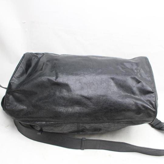 Balenciaga Twiggy First Town City Satchel in Black Image 8