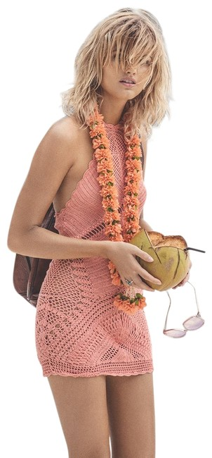 Preload https://img-static.tradesy.com/item/24782054/spell-and-the-gypsy-collective-coral-crochet-short-casual-dress-size-8-m-0-1-650-650.jpg