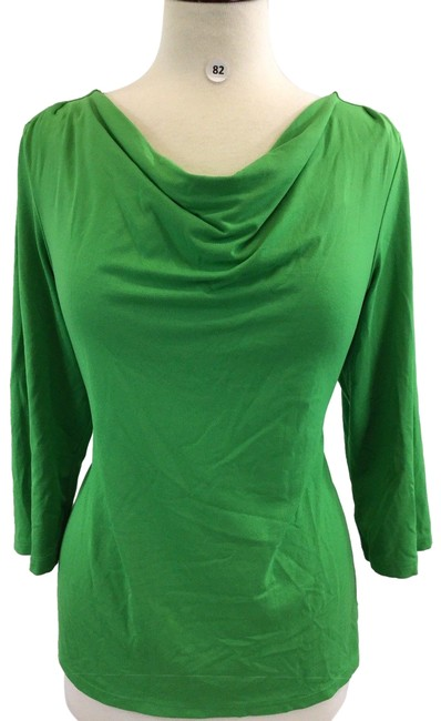 Preload https://img-static.tradesy.com/item/24782057/kim-rogers-green-sleeve-women-s-designer-b-82-blouse-size-12-l-0-1-650-650.jpg
