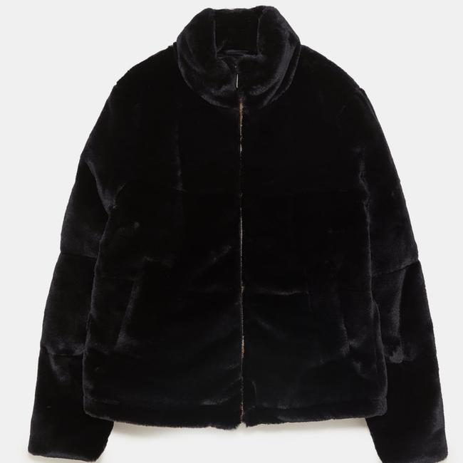 Zara Leather Jacket Image 4