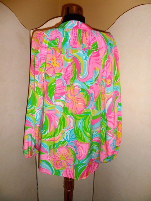 Lilly Pulitzer Top Multi-Color Image 1