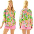 Lilly Pulitzer Top Multi-Color Image 2