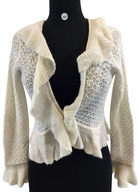 Preload https://img-static.tradesy.com/item/24782153/apt-9-cream-sleeve-women-s-designer-cardigan-small-blouse-size-4-s-0-1-650-650.jpg