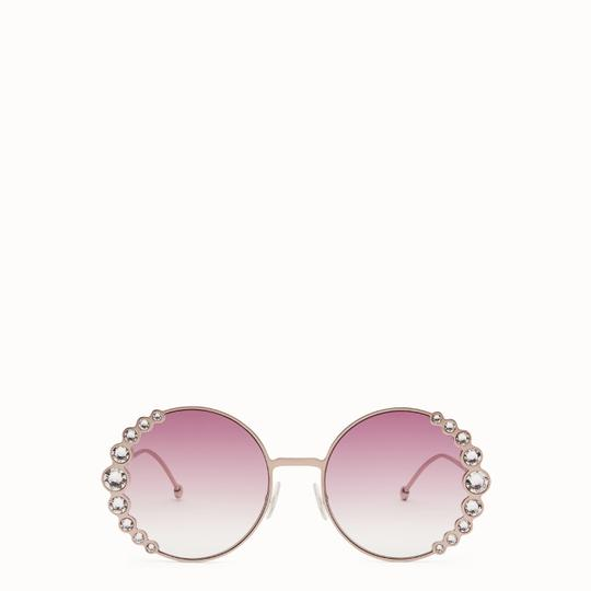 Fendi NEW Fendi 0324/S Ribbons Crystals Round Oversized Swarovski Sunglasses Image 0