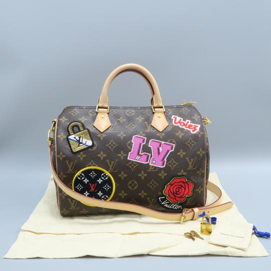 Louis Vuitton Lv Monogram Canvas Speedy Shoulder Bag Image 1