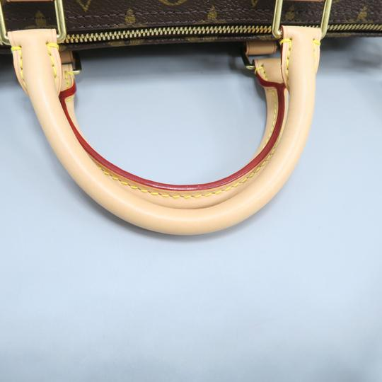 Louis Vuitton Lv Monogram Canvas Speedy Shoulder Bag Image 6