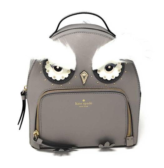Preload https://img-static.tradesy.com/item/24782190/kate-spade-star-bright-owl-tomi-city-scape-grey-leather-backpack-0-0-540-540.jpg