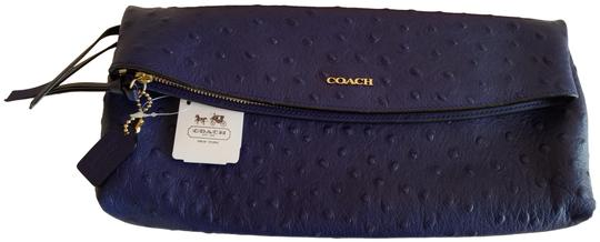 Preload https://img-static.tradesy.com/item/24782255/coach-women-s-madison-foldover-blue-ostrich-embossed-leather-clutch-0-3-540-540.jpg