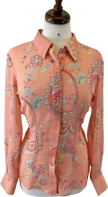 Preload https://img-static.tradesy.com/item/24782326/coldwater-creek-multicolor-long-sleeves-women-s-blouse-small-button-down-top-size-4-s-0-3-650-650.jpg