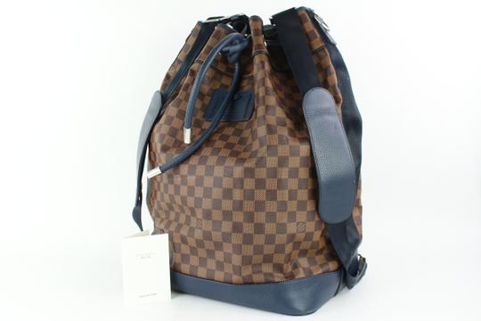 Louis Vuitton Sac Marine Carryall Keepall Virgil Limited Backpack Image 1